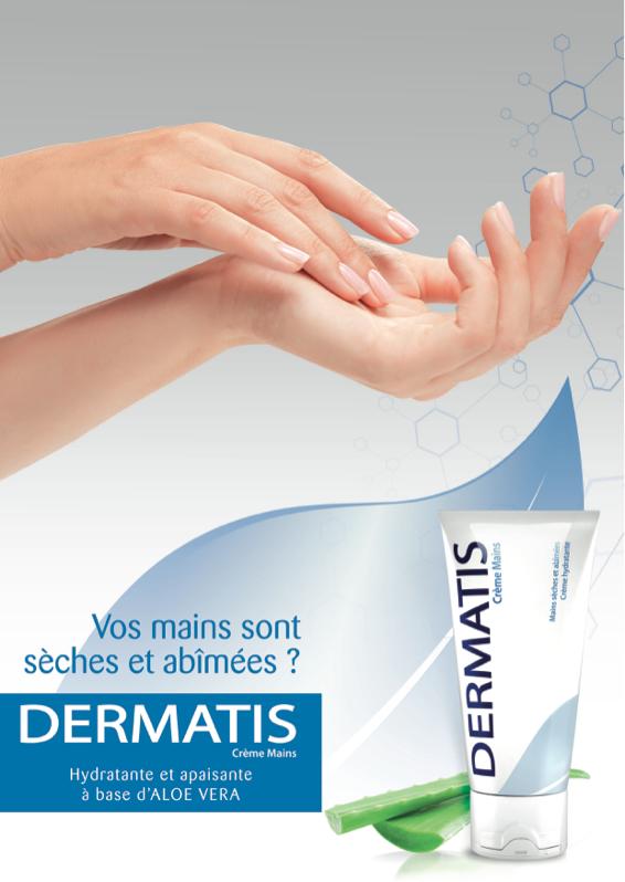 DERMATIS, crème mains,Skin, protis laboratoires